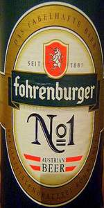 Fohrenburger No. 1
