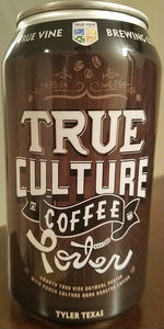 True Culture Oatmeal Coffee Porter