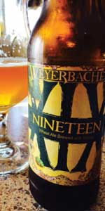 Nineteen (XIX - Wheat Ale Brewed with Mango)