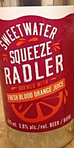 Amsterdam Sweetwater Squeeze Radler - Blood Orange