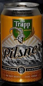 Von Trapp Bohemian Pilsner
