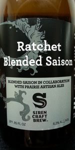 Siren / Prairie Artisan Ales Ratchet