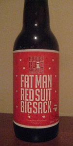 Fat Man Red Suit Big Sack
