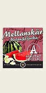 Mellanskär Melon & Gurka