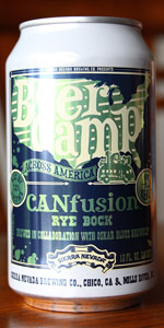 CANfusion: Rye Bock (Beer Camp Across America)