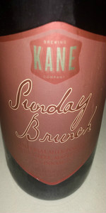sunday brunch kane brewing company beeradvocate