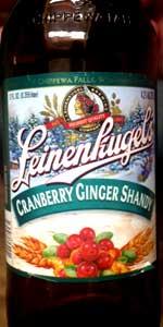 Cranberry Ginger Shandy