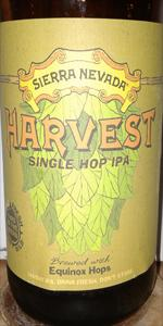 Sierra Nevada Harvest Single Hop IPA - Equinox Hops