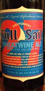 27th Anniversary Wheatwine Ale
