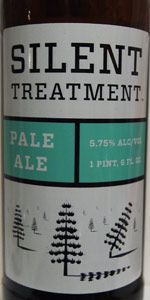 Silent Treatment Pale Ale