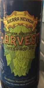 Harvest Fresh Hop IPA- Southern Hemisphere Harvest