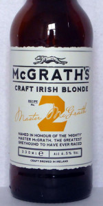 McGrath's Irish Blonde