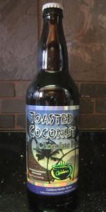 Toasted Coconut Chocolate Porter