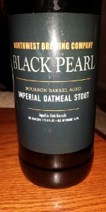 Black Pearl Imperial Oatmeal Stout Bourbon Barrel Aged