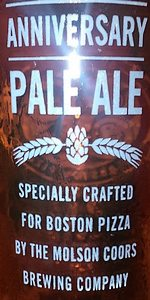 Boston Pizza Golden Anniversary Pale Ale