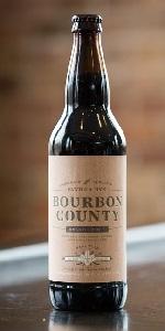 Vanilla Rye Bourbon County Brand Stout