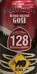 Highway 128 Session Series:  Blood Orange Gose