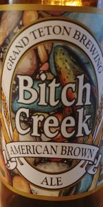 Bitch Creek American Brown Ale