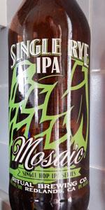 Single Rye IPA (Mosaic)