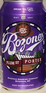 Bozone Plum St. Porter