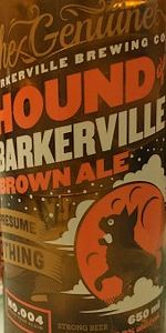 Hound Of Barkerville Brown Ale