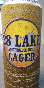 Eight Lake Dortmunder Lager