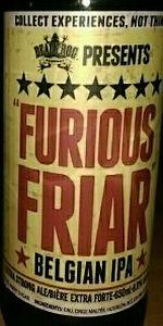 Furious Friar Belgian IPA