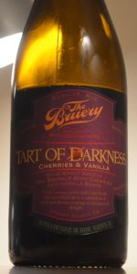 Tart Of Darkness - Cherries And Vanilla