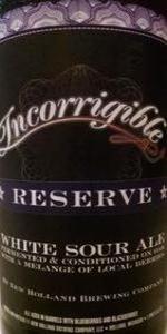 Incorrigible Reserve
