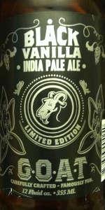 Black Vanilla IPA