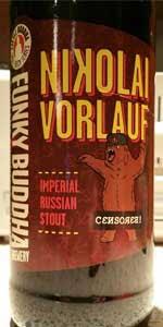 Nikolai Vorlauf Imperial Stout