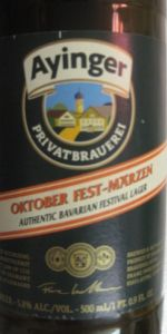 Ayinger Oktober Fest-Märzen