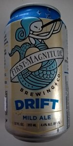 Drift English Mild Ale