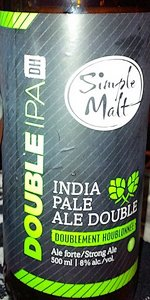 Simple Malt Double IPA DH