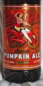 Red Betty Spiced Pumpkin Ale
