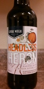 Headless Heron Barrel Aged Pumpkin Spice Ale