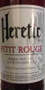 Petit Rouge Hibiscus Belgian Pale Ale