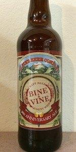 Bine & Vine 3rd Anniversary Ale