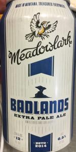 Badlands Extra Pale Ale
