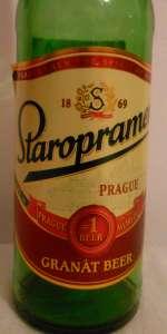 Staropramen Granat Beer
