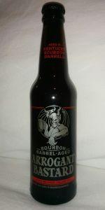 Arrogant Bastard Ale - Bourbon Barrel-Aged