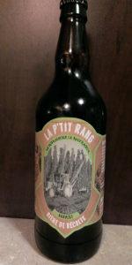 La P'tit Rang Bière De Récolte