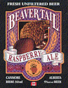 Beaver Tail Raspberry Ale