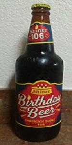 Birthday Beer 106 - Chocolate Stout