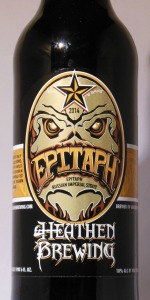 Epitaph Russian Imperial Stout