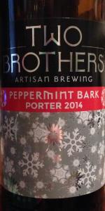 Peppermint Bark Porter (2014)