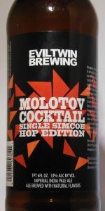 Molotov Cocktail - Single Simcoe Hop Edition