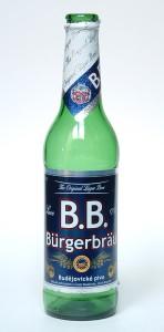 B.B. Bürgerbräu / B.B. Budweiser Bier
