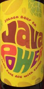 Java Power India Pale Ale with Coffee