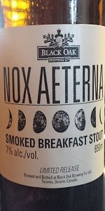 Black Oak Nox Aeterna